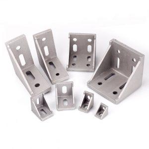 Coner connector for aluminium