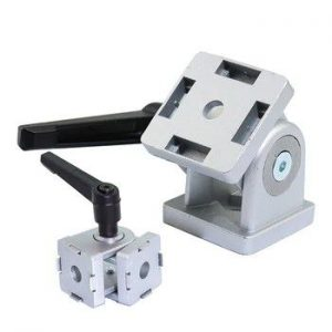 Swivel joints for profiled aluminum