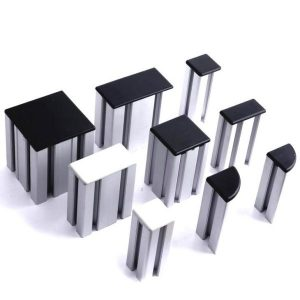 Plastic shaped aluminum plug