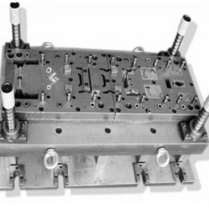 Stamping continuous mold
